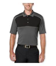 PGA Tour Mens Colorblock Golf Rugby Polo Shirt