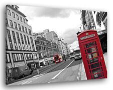 Quadro Moderno LONDRA 1 Vari Formati Arredo Città Arredamento Stampa su Tela