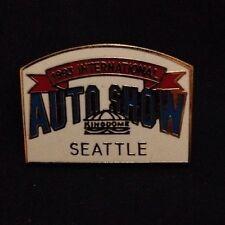 Seattle International Auto Show 1993 Pin Pinback Hatpin Lalel Pin Kingdome