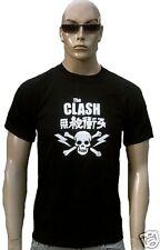 THE CLASH Official Merchandise rock star HEAVY METAL CALAVERA RARE Camiseta S