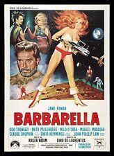 Home Wall Art Print - Vintage Movie Film Poster - BARBARELLA - A4,A3,A2,A1