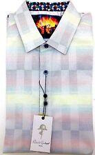 Robert Graham TALL Men's Short Sleeve Mid Hills Shirt NWT XLT, LT, 2XLT