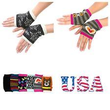 New Women's Winter Arm Warmer Gloves Casual One Size Fingerless Fashion Unisex