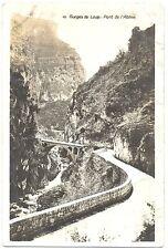 CPA 06 Alpes-Maritimes Gorges du Loup pont de l'Abîme carte-photo