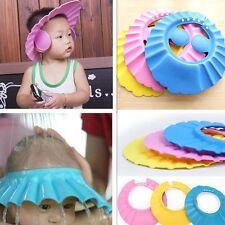 Kid Safe Bath Soft Hat Shampoo Shower Caps Wash Hair Children Waterproof Shield