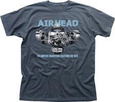 Airhead Boxer Twin R65 R75 R1200GS BMW Motocicleta R1200RT Camiseta de carbón 9290