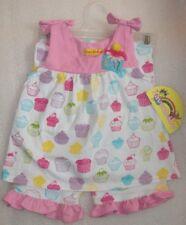 NEW Baby Girls Birthday CUPCAKE Top Set Size 18M NWT