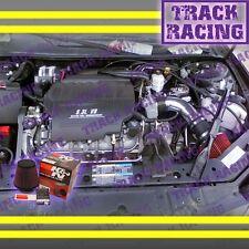 04-08 PONTIAC GRAND PRIX GT GTP GXP 3.8L V6 5.3L V8 AIR INTAKE+K&N Black Red TB
