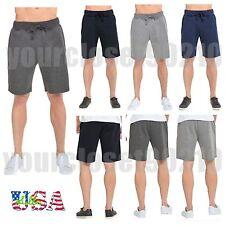 Men's GYM Shorts Fleece Fashion Shorts Casual Sports Jogger Workout Basic Shorts