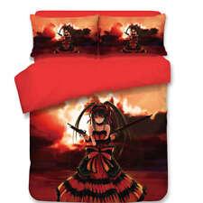 Girl Gun Different Lengths 3D Digital Print Bedding Duvet Quilt Cover Pillowcase