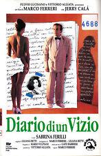 Diario Di Un Vizio (1993)   VHS  Skorpion   Jerry  CALA'  Sabrina FERILLI