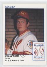 1989 #DD-3 German Gulbit Team U.S.S.R (National Team) Rookie Baseball Card