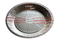 "Handi-Foil 11"" Disposable Pie Pan Tin 1 11/32"" Deep 50/Pk -Extra Deep Pie Plates"