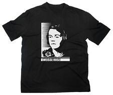 Sophie Scholl Weisse Rose T-Shirt Antifa Antifaschismus Gegen Nazis Faschismus