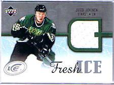 05/06 Upper Deck Ice, Jussi Jokinen Fresh Ice Jersey