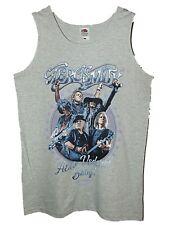 Nuevo Mercadería Oficial Para Hombre Aerosmith Aero vederci Bebé Logo Tour Chaleco Talla S-XL