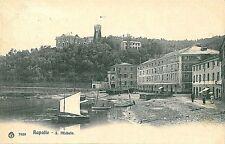 CARTOLINA d'Epoca: GENOVA - RAPALLO : 1906