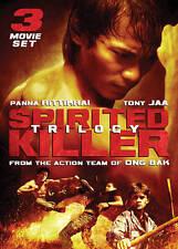 Spirited Killer Trilogy <Unrated (DVD New) Tony Jaa*Panna Rittikrai FS