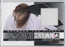 2009 In the Game Between Pipes Home Grown Black Bossa Calgary HG-18 Jonas Hiller