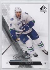 2013-14 SP Authentic #136 Ryan Kesler Vancouver Canucks Hockey Card