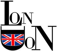 ADHESIF STICKER MURAL DECO CHAMBRE SALON VILLE LONDON LONDRES UK VI004