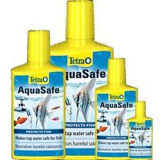TETRA AQUASAFE Aquarium water neutralizer Water tap conditioner