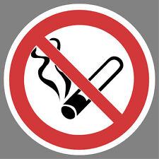 Rauchen verboten Aufkleber Sticker Hinweis Verbotsschild