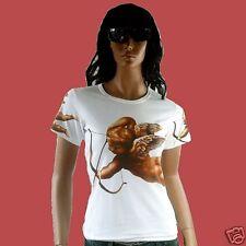 LIEBESENGEL Eye Catcher ENGEL AMOR Tattoo Art Religion Star Designer T-Shirt g.S