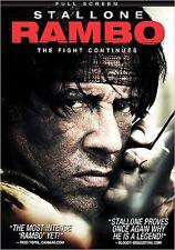 Rambo (DVD, 2008, Full Frame)