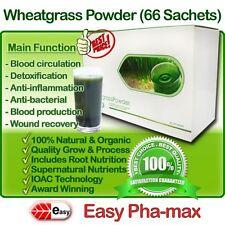 Easy Pha-max Organic Wheatgrass Powder, INS 100% Natural Wheat Grass Juice