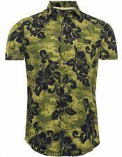 Armani Jeans Pattern Fantasia print H/S Shirt SZ: XXL & XXXL BNWT