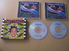 Partymania Die besten Partyhits 2 CD Pappschuber 90ziger 30 Tracks