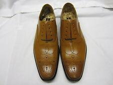Loake 'Gunny' Hommes Cuir Marron Chaussures richelieu F Largeur Adaptée
