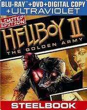 Hellboy II: The Golden Army (Blu-ray/DVD, 2013, 2-Disc Set, Includes Digital)New