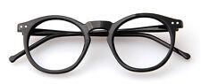 Agstum Horn Rimmed Round Retro Optical Eyeglass Frames Plain Glasses Eyewear