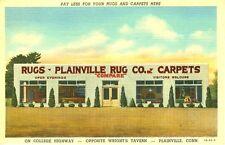 Plainville,CT. Plainville Rug Company 1943