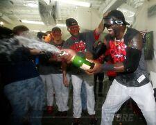 David Ortiz Boston Red Sox 2013 champagne locker room 8x10 11x14 16x20 (4029)