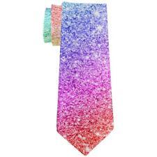 LGBTQ Pride Faux Rainbow Glitter All Over Neck Tie