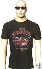 AMPLIFIED ROLLING STONES UK Union Jack Zunge Rock Star Vintage Print T-Shirt M