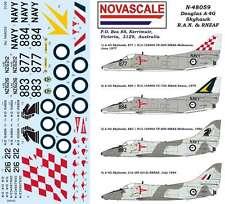 RAN & RNZAF A-4G Skyhawk Decals 1/48 Scale N48059