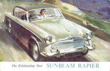 Sunbeam Rapier Series I 1390cc 1955-56 Original UK Sales Brochure Pub. No. 445