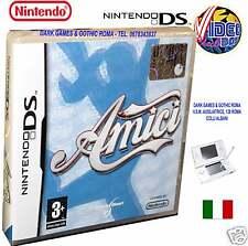 AMICI GIOCO NUOVO PER NINTENDO DS LITE DSI DSI XL e 3DS IN EDIZIONE ITALIANA PAL