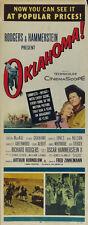 Oklahoma! (1955) Gordon McRae Cult Western movie poster print