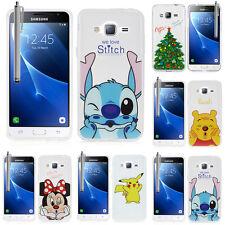 Silikon TPU Schutzhülle Cartoon Samsung Galaxy Express Prime 4G LTE Flip Case