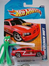 2011 Hot Wheels DODGE CHARGER DRIFT #170/244 ~Red ~ Watkins Glenn NY Fire Dept