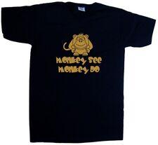 Vedere SCIMMIA Monkey Do Divertente T-Shirt Scollo a V