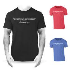 Muhammad Ali Make The Days Count Quote Premium T-shirt Boxing