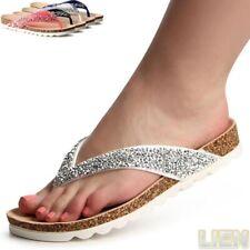 FEMMES PAILLETTES sandales tongs Sandalettes