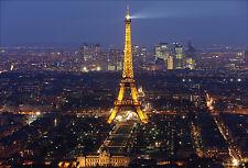 Stickers muraux autocollant déco : Tour Eiffel - réf 1519 (16 dimensions)