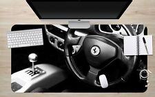3D Lenkrad Identifikat 5 Rutschfest Büro Schreibtisch Mauspad Tastatur Spiel MXY